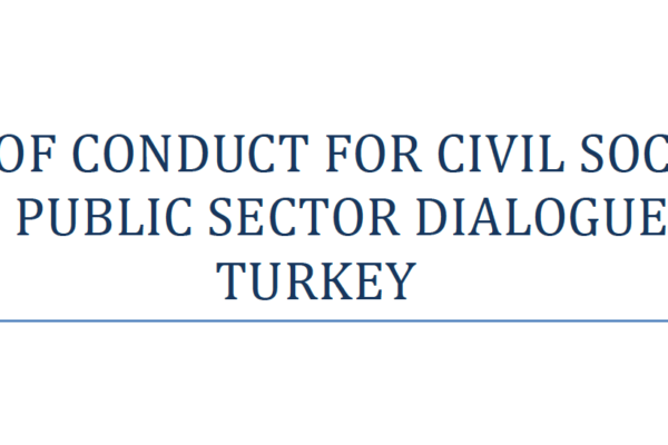 Code of Conduct for Civil Society and Public Sector Dialogue in Turkey