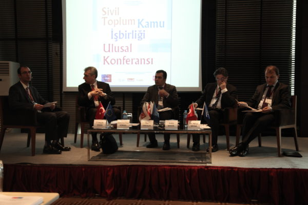 Sivil Toplum-Kamu İşbirliği Ulusal Konferansı Gerçekleşti